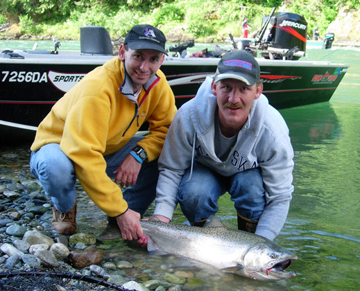 Washington steelhead guide washington salmon guide river for Salmon fishing washington rivers